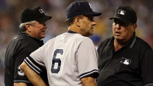 Joe Torre will have his uniform number retired Saturday at Yankee Stadium.