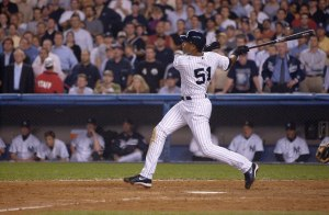Bernie Williams'  No. 51 joins Monument Park retirement list.