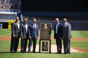 Andy Pettitte, Mariano Rivera, Jorge Posada, Derek Jeter, Bernie Williams (NY Daily News photo).